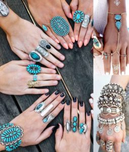 Модные кольца