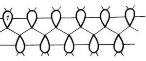 Схема плетения фриволите