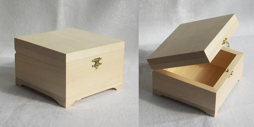 Как из картона сделать коробочку для украшений