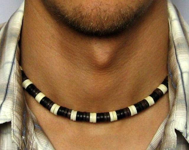 Мужские бусы на шею