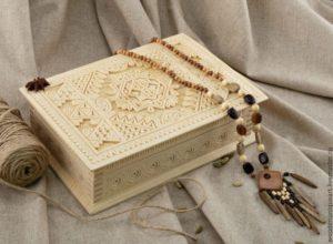 Первые деревянные шкатулки