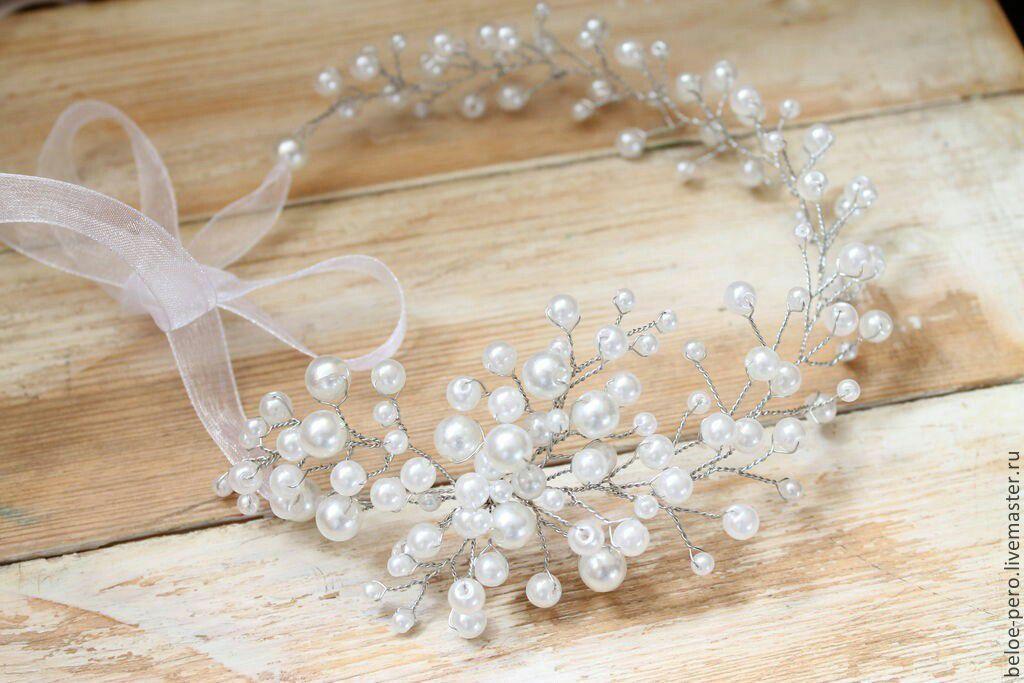 Роскошный аксессуар: диадема для невесты