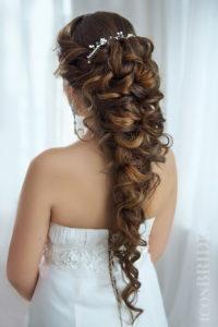 украшение для волос на греческую косу