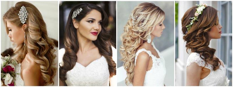 Прическа на свадьбу на длинный волос