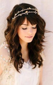 Украшения для волос с присеской локоны